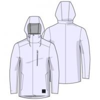 UA Wool Town Coat-BLK