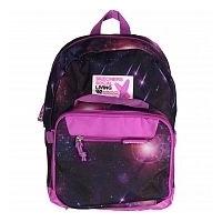 1PK GIRLS BACKPACK W/ DETACHABLE LUNCH BAG - GEOSCOPE Adult backpack