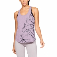 ABSTRACT GRAPHIC X-BACK TANK