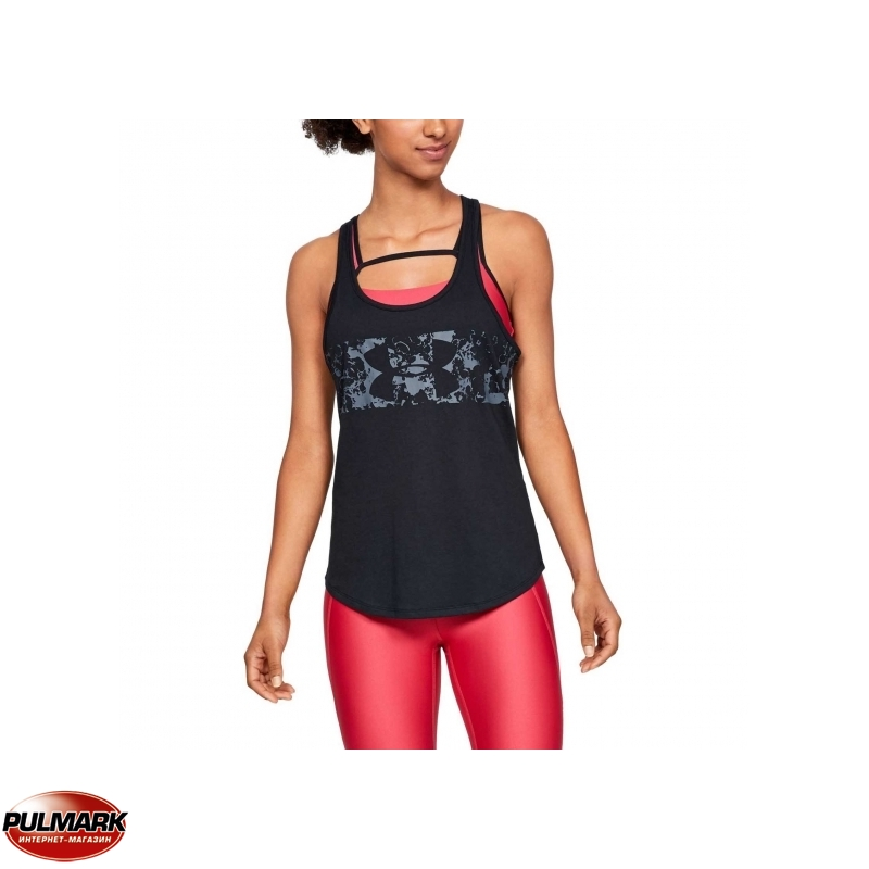 ABSTRACT LOGO GRAPHIC X-BACK TANK