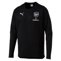 Arsenal FC CASUAL Performance Crew Neck Sweater with sponsor