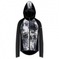 Outrun The Storm Printed Jkt-BLK