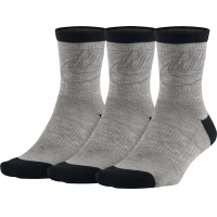 Sportswear Striped Low Crew Socks (3 Pairs)