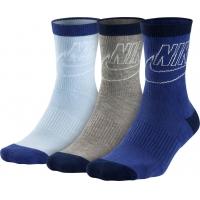 Sportswear Striped Low Crew Socks (3 Pairs)