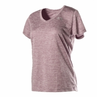 Tech Short Sleeve V Neck- Twist