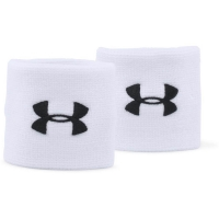 UA Performance Wristbands-WHT