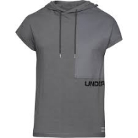 UA Pursuit SS Hooded Tee